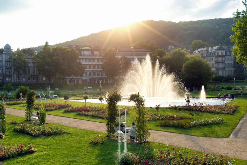 Rosengarten Bad Kissingen (©Bayer. Staatsbad Bad Kissingen GmbH / Dominik Marx)